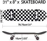 Zoom IMG-1 khrodis skateboard completo per principianti