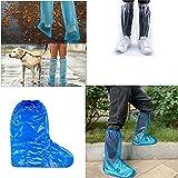 Fundas Impermeables Para Zapatos,Protector Calzado Lluvia (azul)