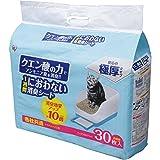 アイリスオーヤマ システムトイレ用 1週間におわない脱臭シート クエン酸入 30枚入