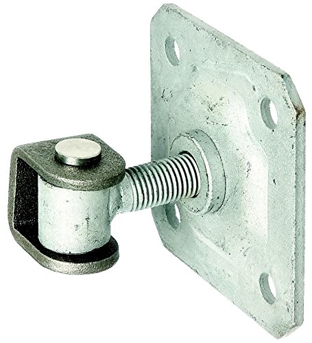 GAH-Alberts 418397 Torband mit Platte zum Aufschrauben, feuerverzinkte Augenschraube, Verbindungsbolzen und Sicherungsring aus Edelstahl, Gewinde: M16