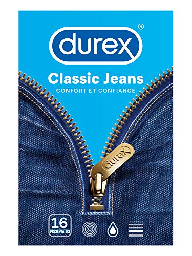 Durex Classic Jeans 16 Kondome