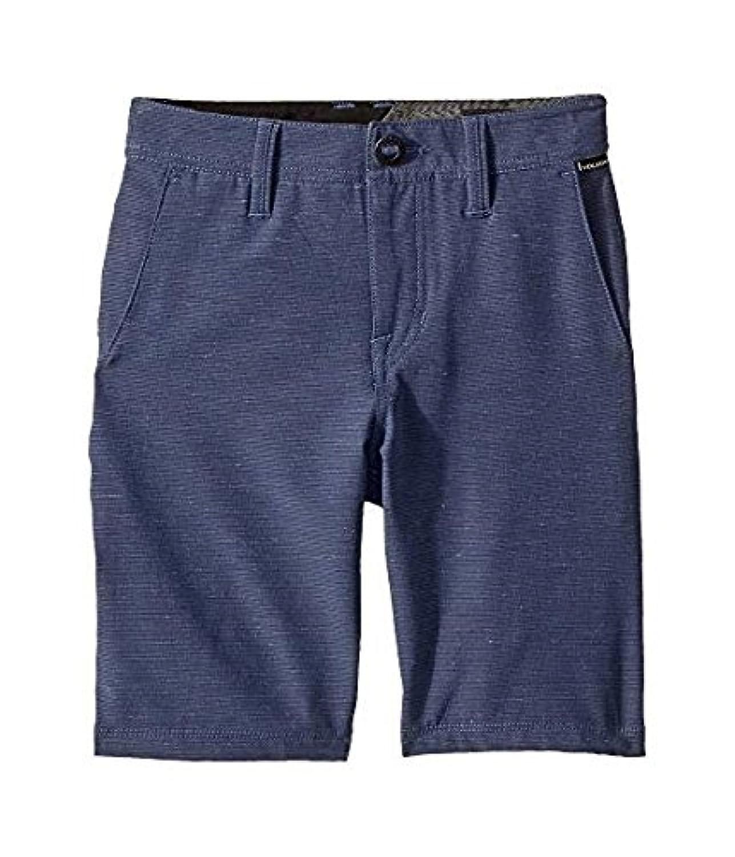 ボルコム Volcom Kids キッズ 男の子 ショーツ 半ズボン Deep Water Frickin SNT Slub Shorts (Big Kids) [並行輸入品]