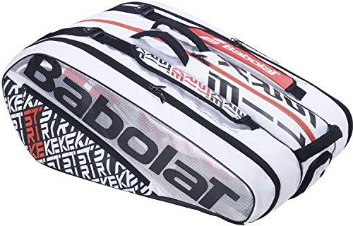 Babolat RH X 12 Pure Strike - Borsa sportiva classica, colore: bianco, 10-12