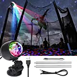Eloptop LED Trampoline Lights Trampoline Games and Accessories for Trampoline Garden Patio...