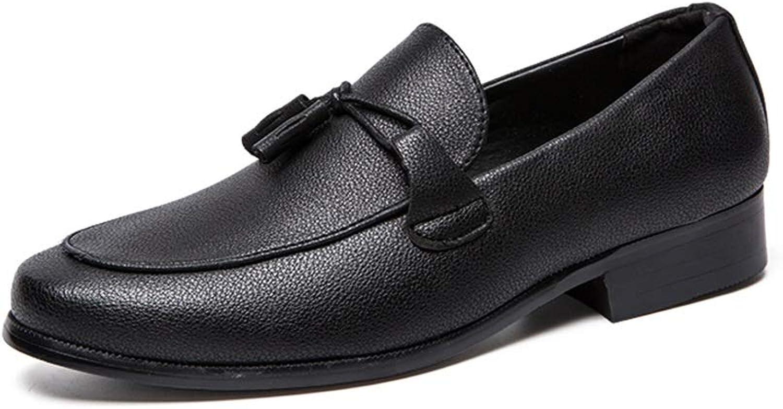 Herrenmode Oxford Lässige Klassische Klassische Klassische Quaste Bequeme Niedrige Formelle Schuhe,Grille Schuhe (Farbe   Schwarz, Größe   42 EU)  732d4a