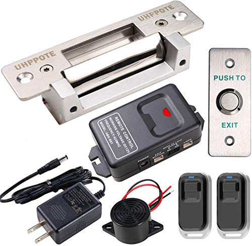 UHPPOTE Door Access Control Electric Heavy Duty Strike Lock Remote Kit