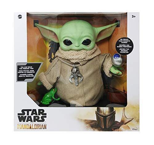 Star Wars The Mandalorian,The Child Plush with Many Accessories (Best Yoda The Child Toy in The Market)