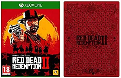 Red Dead Redemption 2 with Collectible SteelBook (Exclusive to Amazon.co.uk) (Xbox One)