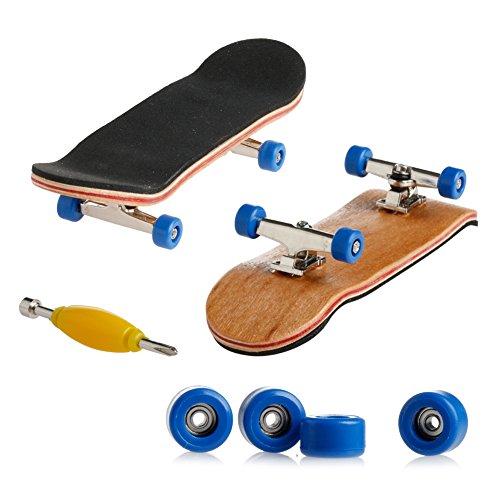 Autone 1 Set Holzdeck, Griffbrett, Skateboard, Sport, Spiele, Kinder, Geschenk, Ahornholz, tiefblau