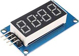 uxcell Digital Display Module 4-Digit 8-Segments Common Anode with Brightness Adjustable for Arduino