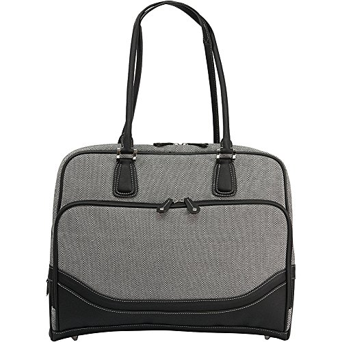 Mobile Edge Herringbone Notebooktasche 40,6 cm (16 Zoll) Aktenkoffer Schwarz, Weiß - Notebooktaschen (Aktenkoffer, 40,6 cm (16 Zoll), 1,54 kg, Schwarz, Weiß)