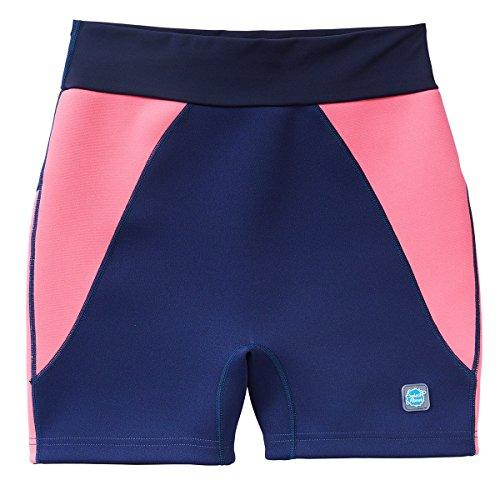 Splash About damen Jammer (Schwimm-/Badehose) Jammers, Blau (Navy/Pink), X Small/Size 56 - 68