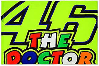 Valentino Rossi Multi Vr46 The Doctor Flag (Default, Yellow)