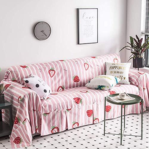 GAOZHEN Housse de canapé Pour animaux de compagnie, housse de canapé Pour chiens, housse de canapé minimaliste, protecteur de meubles de canapé 1 pièce, Fauteuil de Salon canapé-F 190x300 cm (75x118