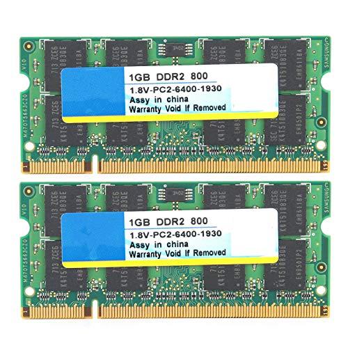 Memoria de computadora, 2 Piezas DDR2 1GB 800Mhz 1.8V PC2-6400 Totalmente Compatible,...