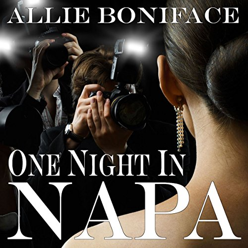 One Night in Napa audiobook cover art