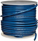UL1015 Commercial Copper Wire, Bright, Blue, 22 AWG, 0.0253' Diameter, 100' Length (Pack of 1)