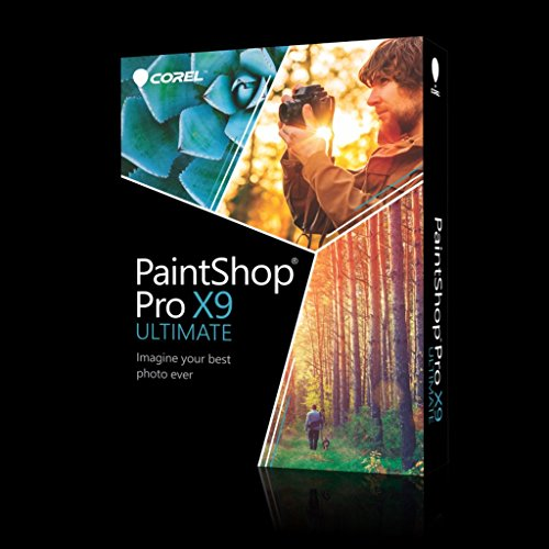 Corel PaintShop PRO X9 Ultimate Special Edition - DEUTSCH - Box