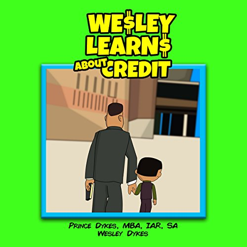 Wesley Learns About Credit audiobook cover art