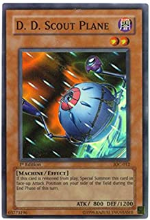 Yu-Gi-Oh! - D.D. Scout Plane (IOC-012) - Invasion of Chaos - Unlimited Edition - Super Rare