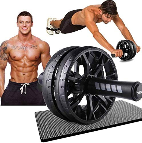 Ab Wheel Roller for Home Gym - Ab Machine for Ab Workout - Ab Workout Equipment - Abs Roller Ab Trainer