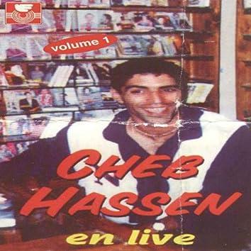 Cheb Hassen en Live, vol. 1 (Live)