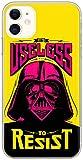 Ert Group SWPCVAD7759 Star Wars Cubierta del Teléfono Móvil, Darth Vader 024, iPhone 11, Multicolor