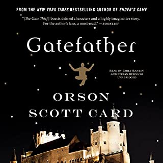Gatefather audiobook cover art