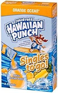 Hawaiian Punch Singles To Go Powder Sticks, Water Drink Mix, Orange Ocean, 96 Single Servings (Pack of 12)