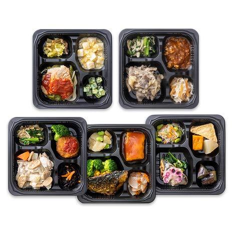 【糖質制限食】冷凍弁当セットCセット(おかずのみ・5メニュー×各1食=5食)