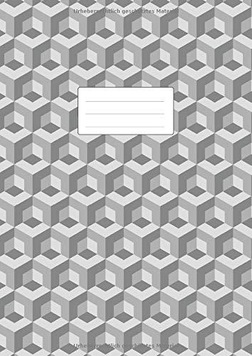 Isometrisch Zeichnen - Isometrieblock - DIN A4: Zeichenbuch mit Isometrie Papier | 110 Seiten | Dreieck 3D Matrix 1/4 Zoll Gleichseitig | Softcover Buch