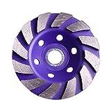 LiQinKeJi8 Muela 4'100 mm 1 unids Diamante Muela de Muelle Discos Discos Forma Forma Taza de Molienda Concreto Granito Piedra Cerámica Corte Pieza de Corte Herramientas eléctricas para pulir