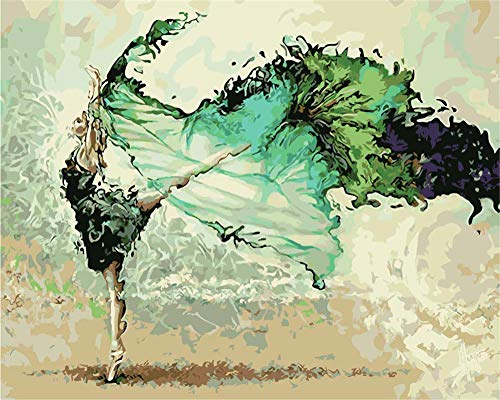 Jigsaw Puzzle 1000 Piece - Puzzle Jigsaw Puzzles For Grown Ups, Ink Dance Girl Jigsaw Floor Puzzle