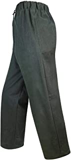 Hoggs of Fife Waxed Overtrousers Olive X-Large Green X-Large Green Trousers