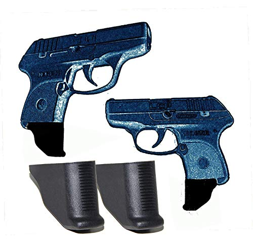 AmeriGun Club 2 Pack Grip Extension for Ruger LCP 380 1.25' Extra Long...