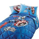 Caleffi Trapunta Piumone Invernale Captain America Marvel Singola Q036
