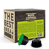 Note d'Espresso Italiano - Cápsulas para las cafeteras Nescafe Dolce Gusto, Matcha Latte, 48 unidades de 12 g