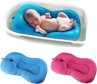 kreuzf/örmig Badewanne Unterst/ützung Badezubeh/ör antirutsch f/ür Neugeborenen oder Kleinkind blau IWILCS Badewannensitz Baby