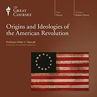 Origins and Ideologies of the American Revolution audiobook cover art