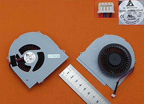 Kompatibel für IBM Lenovo Ideapad Y580, Y580M, Y580N Lüfter Kühler Fan Cooler