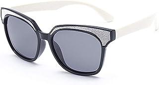 Ouqian - Ouqian Gafas de Sol para Niños Gafas de Sol polarizadas para niños Gafas de protección UV400 Gafas de Sol con Marco de Gel de sílice Gafas de Sol para bebé/niño/niña Caja de 3 a 12 años para el Niño