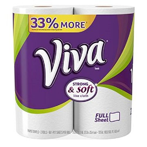 Viva Paper Towels, Big Roll, 2 Count