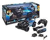 Revell Control X-treme 24817 - RC Car mit FPV-Kamera und VR-Brille - schnelles, robustes ferngesteuertes Auto mit 2.4 GHz Fernsteuerung, Akku und Ladegerät - VR RACER
