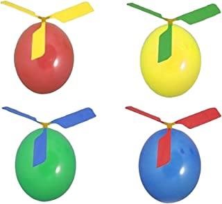 10 Pcs Kids Balloon Helicopter Airplane 20 Pcs Balloon Powered Helicopter Flying Toy for Children's Day Gift Party Favor