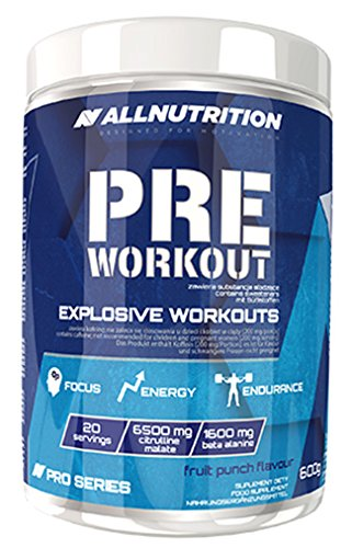 All Nutrition Pre Workout Fruit Punch Flavour Supplement