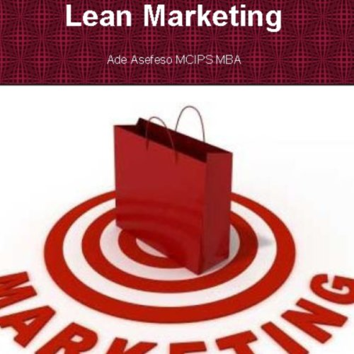 Lean Marketing audiobook cover art
