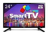 Televisor LED 24' HD NPG Smart TV Android PVR WiFi DVB-T2 H.265 Quad Core