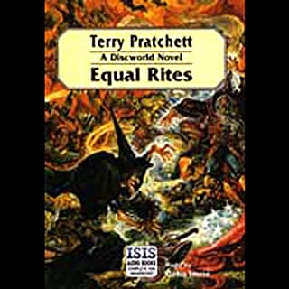Equal Rites                   By:                                                                                                                                 Terry Pratchett                               Narrated by:                                                                                                                                 Celia Imrie                      Length: 7 hrs and 42 mins     2,967 ratings     Overall 4.4