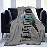 NanZYang Fleece Blanket Final Fantasy VII Cozy Bed Linen Microfiber Lightweight Super Soft Luxury Sofa Warm Yoga Mats Blankets Throw Size 50x40 60x50 80x60 Inch