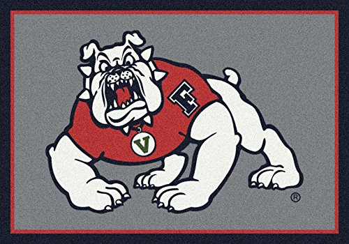 NCAA Team Spirit Rug - Fresno State Bulldogs, 7